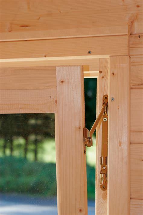 Eingangstür Mit Fenster by Gartenhaus 171 360x300cm Holzhaus Bausatz Modern