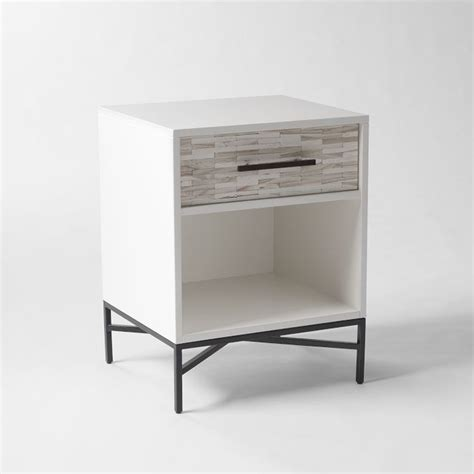 nightstands bedside tables wood tiled nightstand modern nightstands and bedside