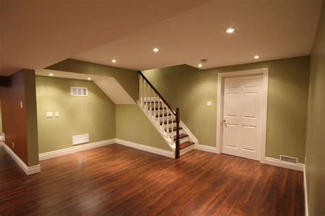 inexpensive basement floor finishing ideas