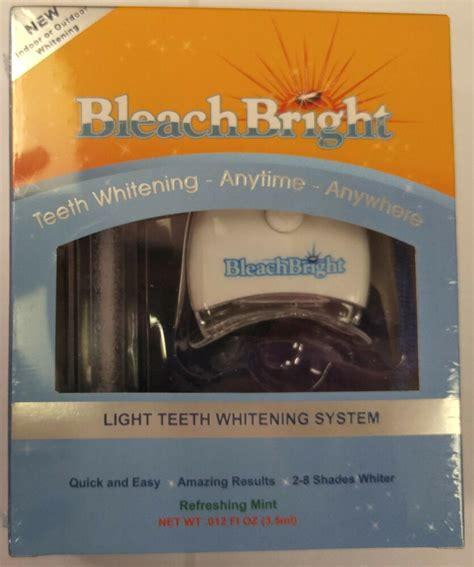 bleach bright bleachbright teeth whitening whitener system
