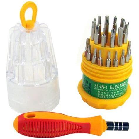 Obeng Tooll Kit Elektronik Serbaguna Mangkok 31 In 1 Termurah jual driver set 31in1 obeng 31in1 istart computer