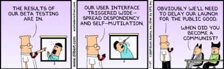 bad design programm dilbert on software design pete kistler