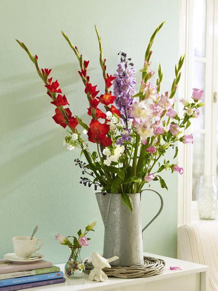 Gladiolen In Der Vase by Diy Blumenstrau 223 Gladiolen Dreimal Anders