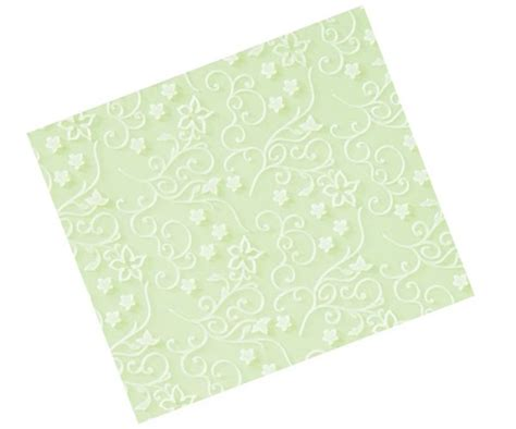 Silicone Embossing Mat by Graceful Vines Texture Embossing Silicone Mat