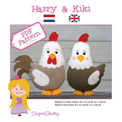 felt rooster pattern 128 best images about gallina on pinterest toys plush