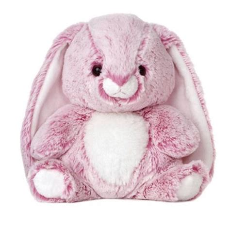 10 quot aurora plush bunny pink candy cuddle easter rabbit