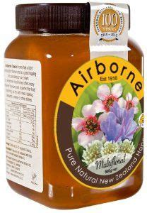 Airborne Honey Guardian Rewarewa 500g monofloral honeys on manuka honey new zealand and