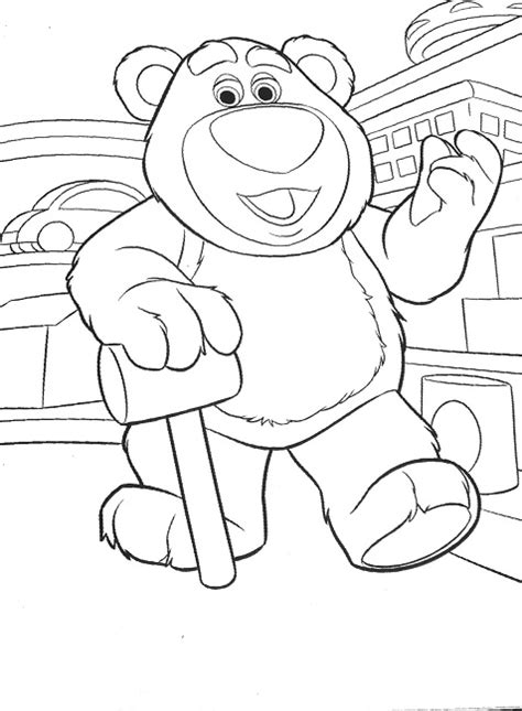 story coloring pages lotso story coloring page disney
