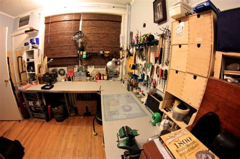 bedroom workshop
