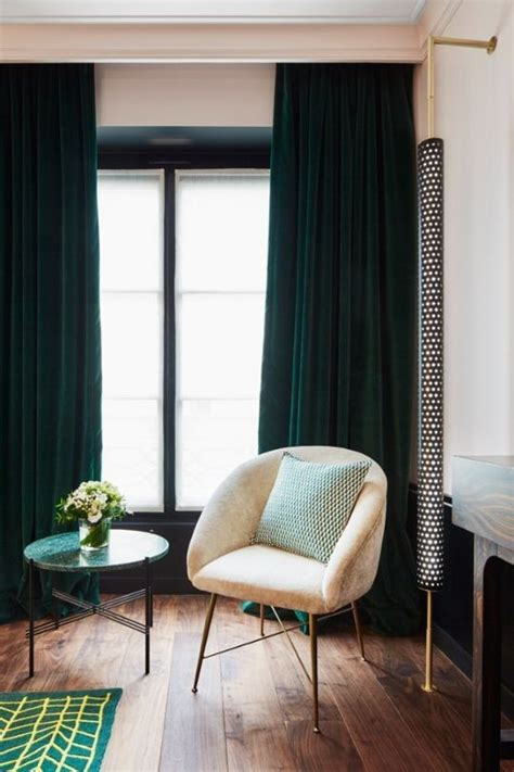 Forest Green Curtains Designs Best 20 Velvet Curtains Ideas On Blue Velvet