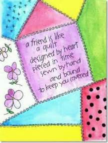 quotes about friends and quilting quotesgram