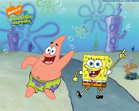 gambar spongebob  wallpaper wajah spongebob