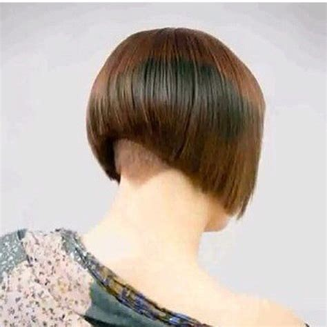 www ponytail with high nape shave haircut com 549 best images about short bob haircuts on pinterest