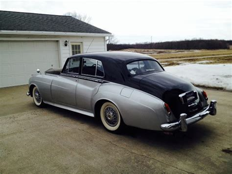 1958 rolls royce silver cloud 4 door sedan 170485