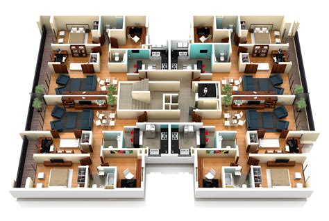 plantas 3d renders arquitectura 3d animaci 243 n y nexarq 3d