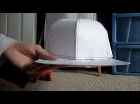 How To Make A Flat Brimmed Paper Hat - how to make a crochet left crochet my