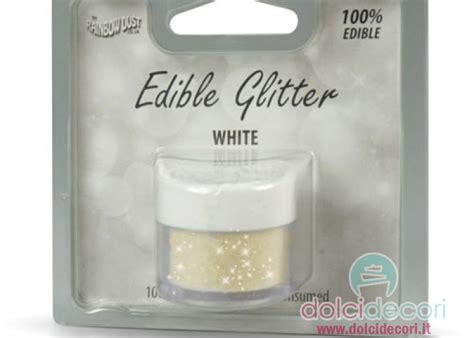 glitter alimentare glitter alimentare avorio per dolci torte e pasticceria