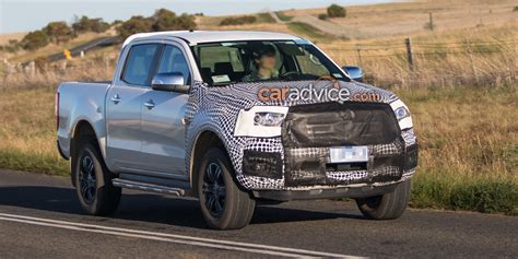 ranger ford 2018 2018 ford ranger and everest spied testing aeb and new