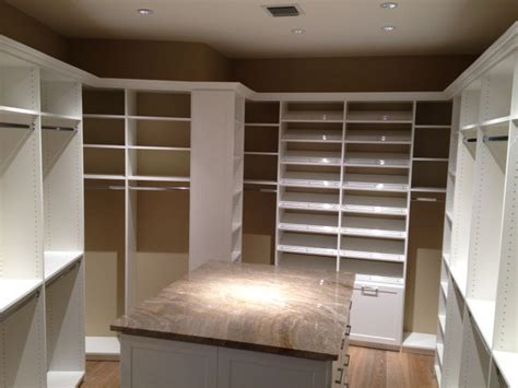 master closet islands gorgeous master closet with island 2 custom closets and