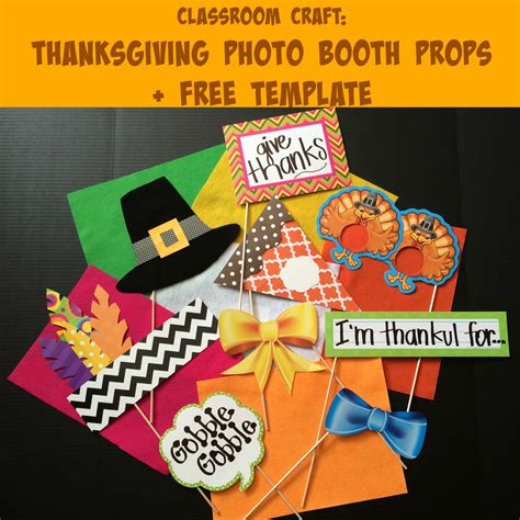 thanksgiving photo booth props thanksgiving photo booth props for the classroom free template created tips