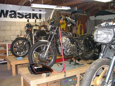 Garage Bench Designs share your motorcycle work bench pictures here south bay