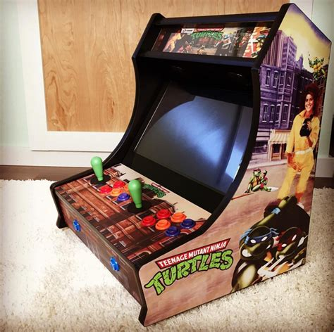 bar top arcade cabinet tmnt bartop arcade kit escape pod online