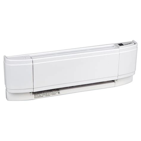 electric baseboard heater with built in thermostat chromalox 500 w baseboard heater with built in