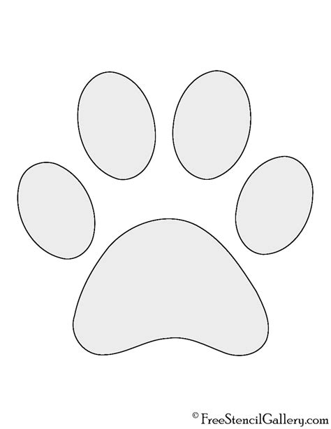 paw print template paw print patterns patterns kid