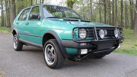 Vw Golf Syncro by Meet The Volkswagen Golf 4 215 4 You Didn T Existed