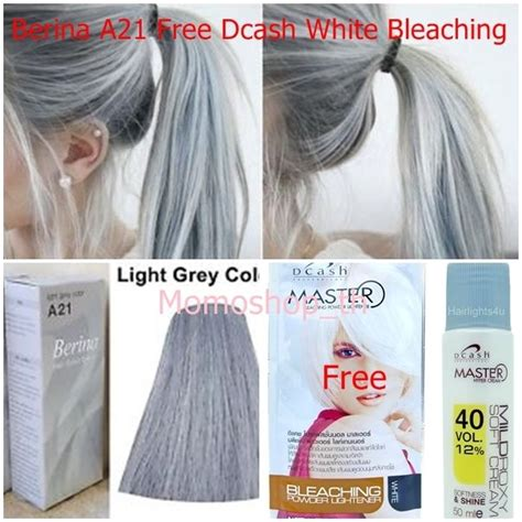 light grey hair dye berina a21 color hair cream light gray permanent super