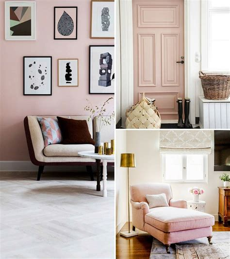 Pink Home Decor by Home Inspiration Decorating With Blush Pink The Green