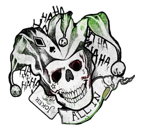 joker tattoo png suicide squad joker logo by misscatievipbekah on deviantart