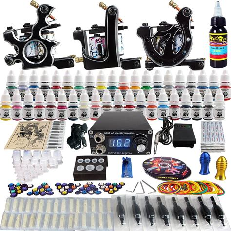 professional rotary tattoo kits solong complete kit 3 pro rotary machine