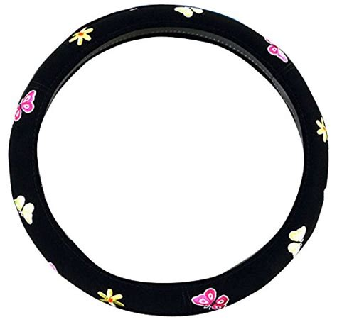 Fh2001 Black steering wheel covers shopswell