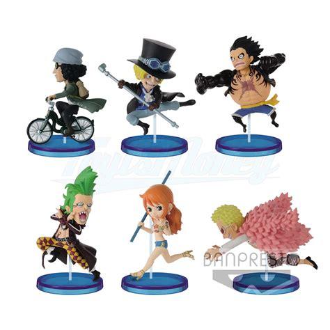 Figure Rayleigh Figure One Figure Luffy Kapal Thousand Ace world collectable figure history relay vol 5 banpresto figurine one