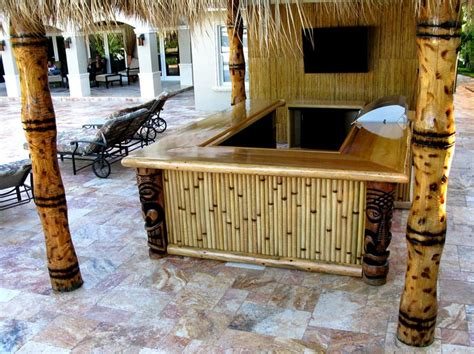 25 best ideas about outdoor tiki bar on pinterest tiki