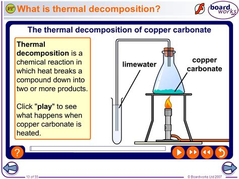 Thermal Decomposition Of Sodium Hydrogen Carbonate Essay by Boardworks Gcse Additional Science Chemistry Chemical Reactions Ppt