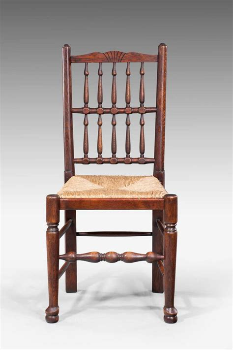 Spindle Back Dining Room Chairs Set Of Eight Spindle Back Dining Chairs At 1stdibs