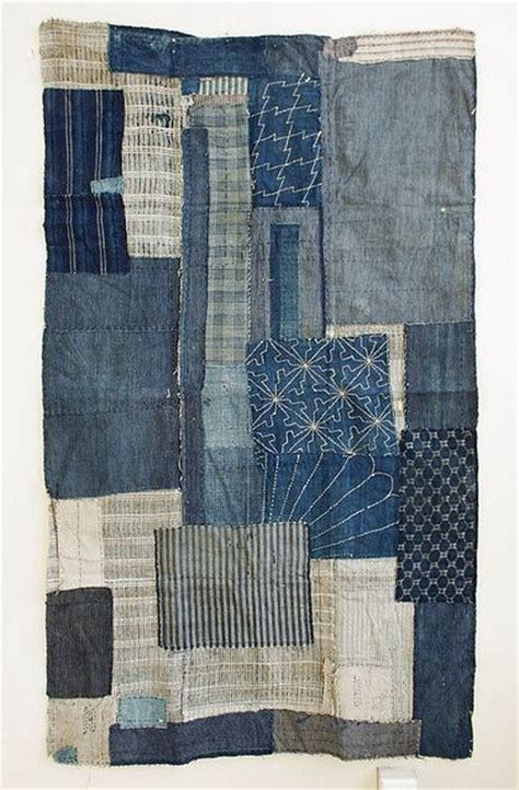 Denim Patchwork Quilt - what a great denim patchwork quilt sewing
