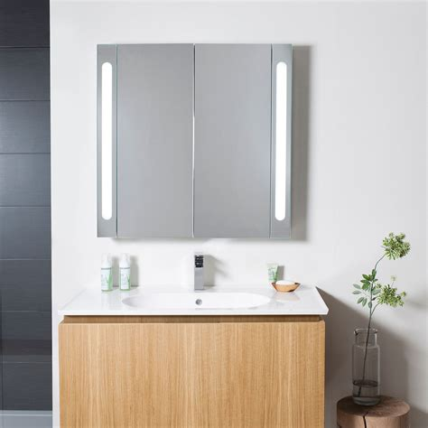 electric bathroom cabinet electric mirrored cabinet 800mm lavo bathrooms and