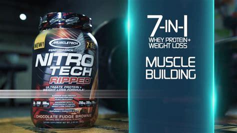 Suplemen Nitro Tech jual nitrotech ripped 4lbs muscletech suplemen fitness