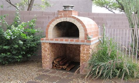 Backyard Brick Oven Plans Brick Landscape Design Outdoor Brick Pizza Oven Plans