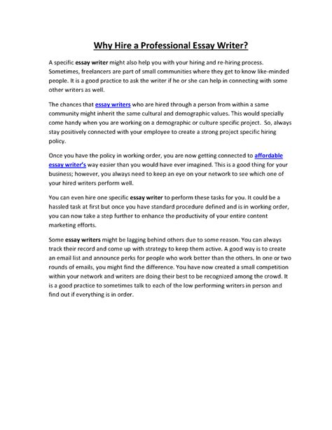 Essay Writers For Hire by How To Write A Strong Personal Essay Writers For Hire Australia