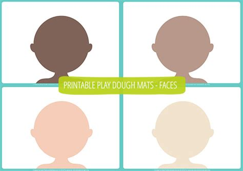 Playdough Templates play dough mats free printable picklebums