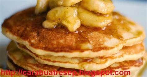 membuat pancake goreng cara membuat pancake pisang telur resep masakan