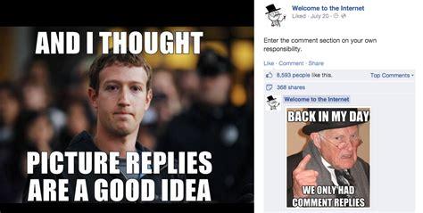 Comment Memes - memes give facebook fans a voice amidst comment chaos