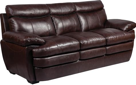 Sofa Genuine Leather marty genuine leather sofa brown the brick