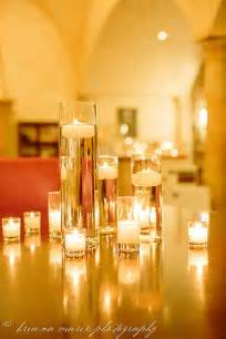 Wedding Vases With Floating Candles diy wedding decor cylinder vases filled with water topped with floating candles diy