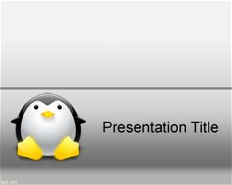ppt templates for linux linux powerpoint template