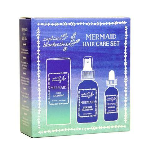 Hair Care Set mermaid hair care set captain blankenship